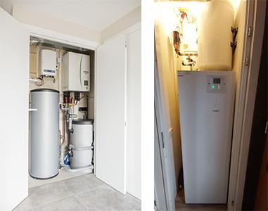 Lucht water warmtepompen - K2 Warmtepompen